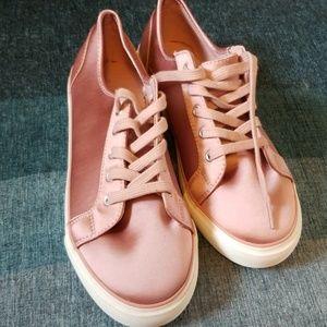 Pink Satin Gap Sneakers